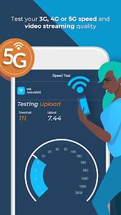 Opensignal 5G, 4G & 3G速度测试电脑版