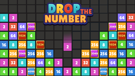 Drop The Number™ : Merge Game PC