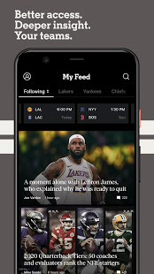 The Athletic: Sports Coverage PC