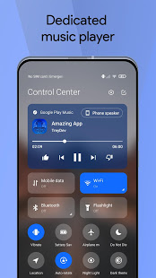 Mi Control Center: Notifications and Quick Actions PC
