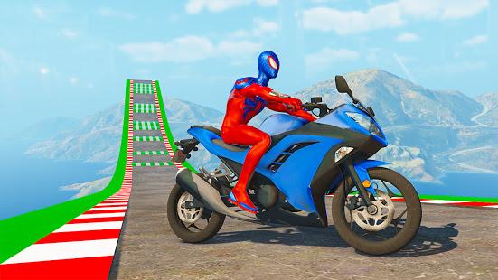 Superhero Bike Stunt GT Racing - Mega Ramp Games PC
