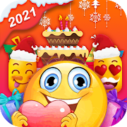 Birthday Stickers For WhatsApp-Love & Emoji PC