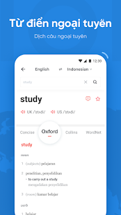 Dịch tiếng Anh U: Từ điển dịch free đa ngôn ngữ PC
