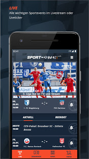 MDR Sport im Osten - Livesport, Liveticker & News PC