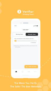 Bee Network:Phone-based Digital Currency الحاسوب