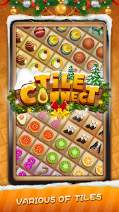 Tile Connect - Free Tile Puzzle & Match Brain Game الحاسوب