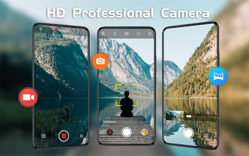 HD Camera - Video, Panorama, Filters, Beauty Cam PC