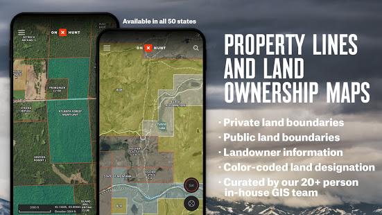 onX Hunt: Hunting Maps, Offline GPS/Nav & Weather ПК