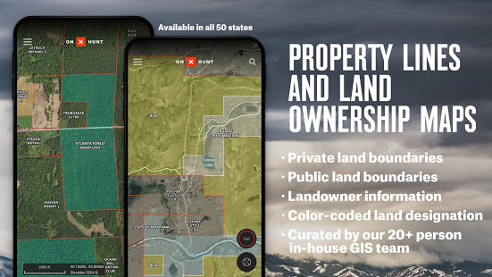 onX Hunt: Hunting Maps, Offline GPS/Nav & Weather