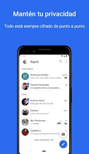 Signal - Mensajería privada PC