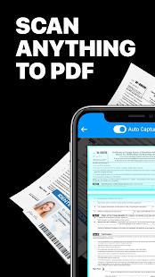 Escáner de cámara a PDF: TapScanner PC