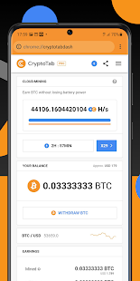 CryptoTab Browser Pro—Mine on a PRO level PC