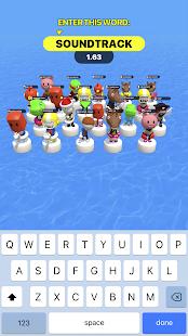 Type Sprint: Jeux de lettres et de rapidité 3D